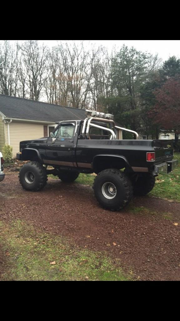 Monster Trucks For Sale >> RARE Factory 1986 Chevrolet Truck K10 4×4 4WD SWB 90s Built show truck for sale