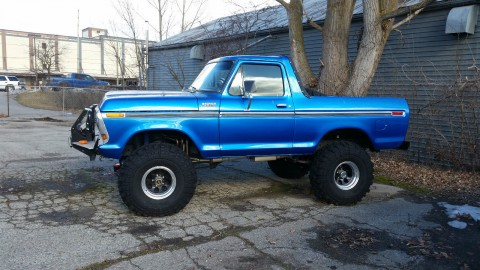 1978 Ford Bronco Modified 4X4 for sale