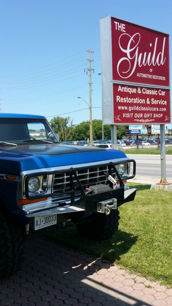 1978 Ford Bronco Modified 4X4