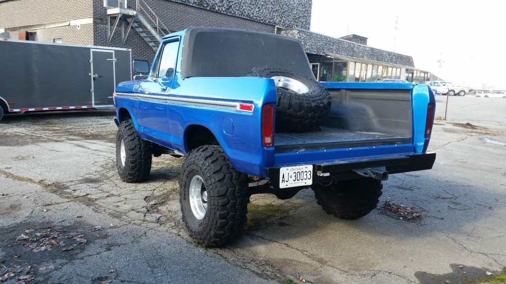 Ford bronco monster truck for sale