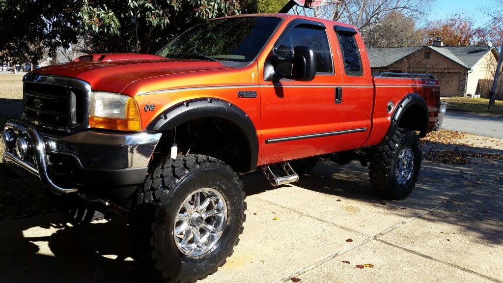 2000 ford f 250 xlt super duty lifted 4x4 monster truck for sale. Black Bedroom Furniture Sets. Home Design Ideas