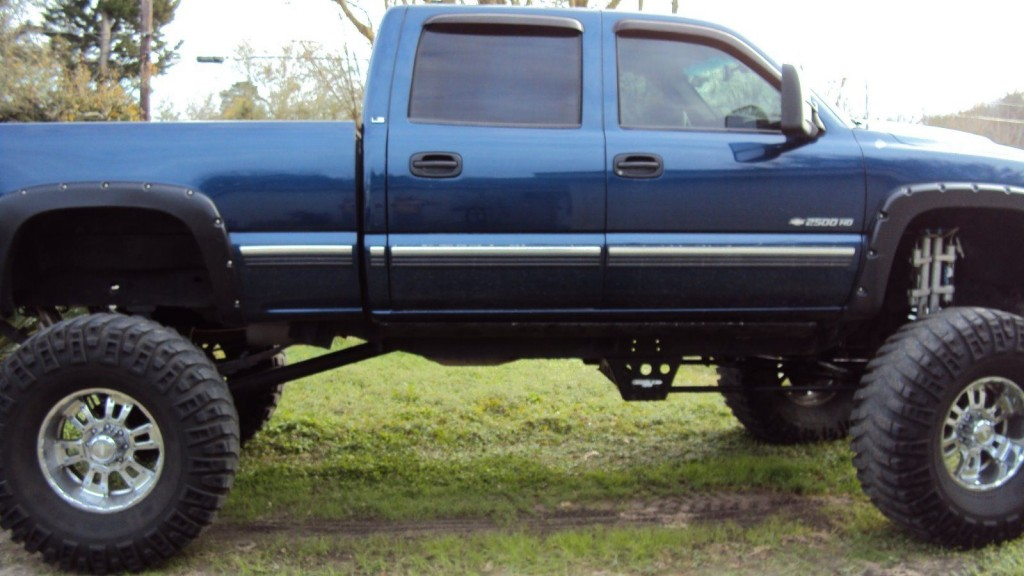 2002 chevrolet silverado hd2500 monster truck for sale. Black Bedroom Furniture Sets. Home Design Ideas