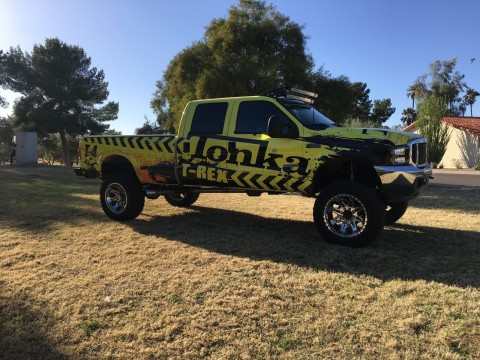2003 Ford F 350 XLT Super duty 4×4 Lifted Monster Truck show for sale