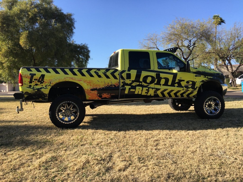 2003 Ford F 350 XLT Super duty 4×4 Lifted Monster Truck show