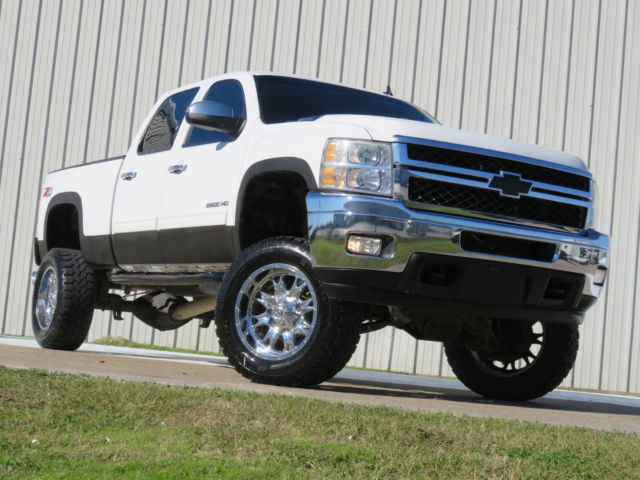 2011 Chevrolet Silverado 2500 Diesel 4 215 4 Lifted For Sale