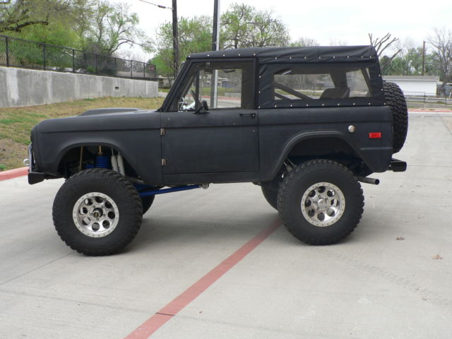 1970 ford bronco ultimate texas truck for sale. Black Bedroom Furniture Sets. Home Design Ideas