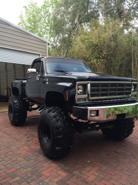 1979 Chevy Scottsdale K10 Stepside 454 Motor Automatic A/C Truck for sale