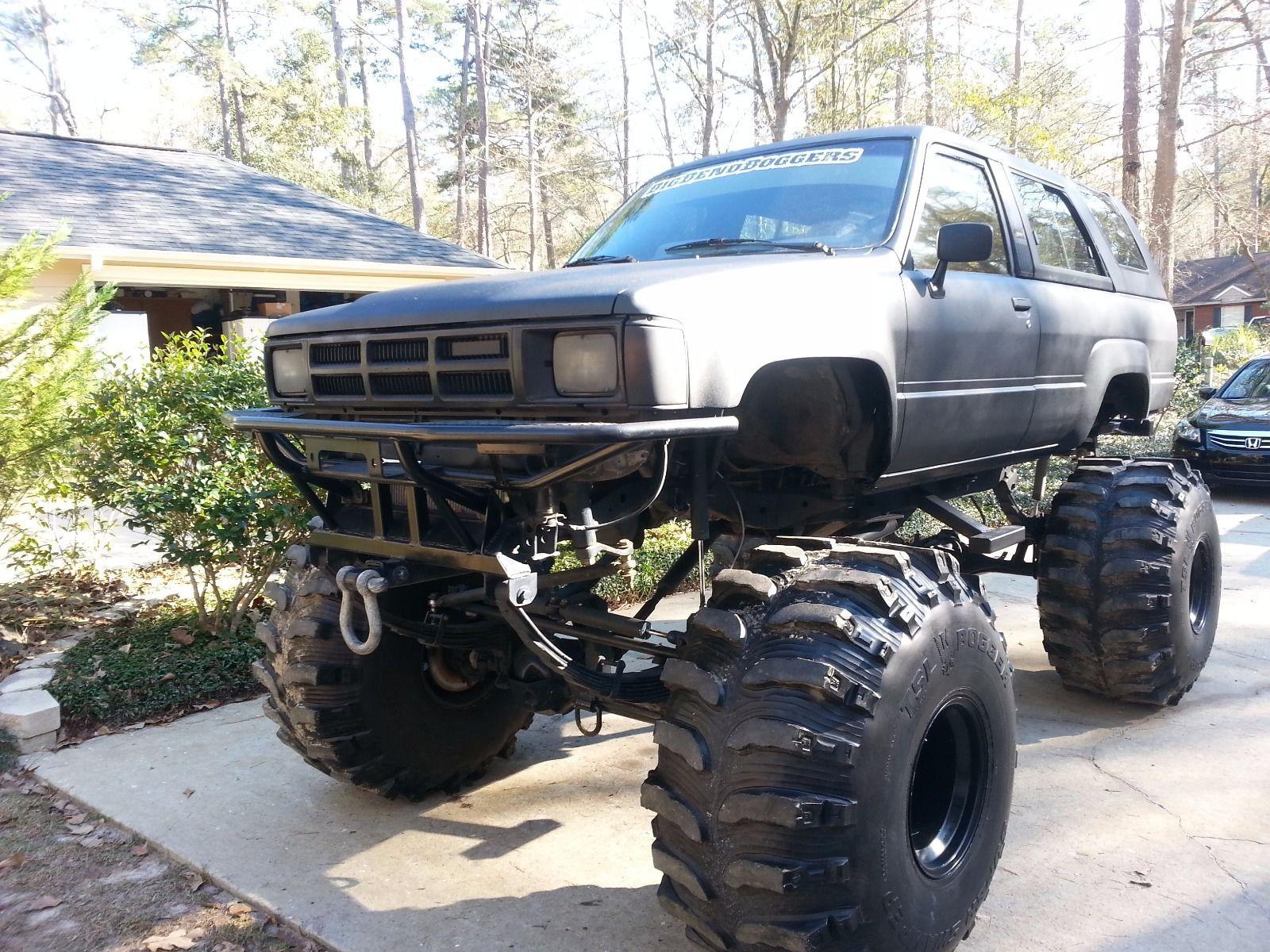 1985 toyota 4 runner sr5 monster bog truck for sale. Black Bedroom Furniture Sets. Home Design Ideas