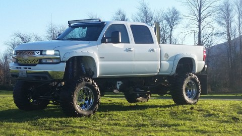 2002 Chevrolet Silverado 2500 Monster Truck Duramax Diesel for sale