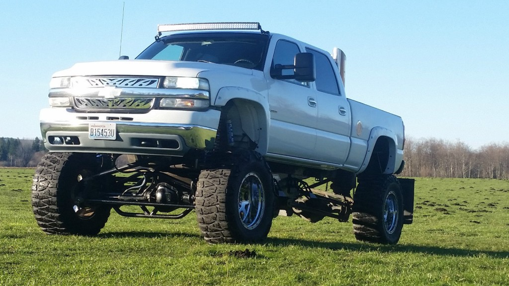 2002 Chevy Silverado Lifted For Sale