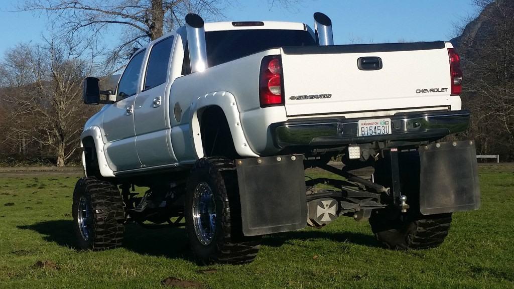 Custom Lifted Diesel Trucks For Sale >> 2002 Chevrolet Silverado 2500 Monster Truck Duramax Diesel for sale