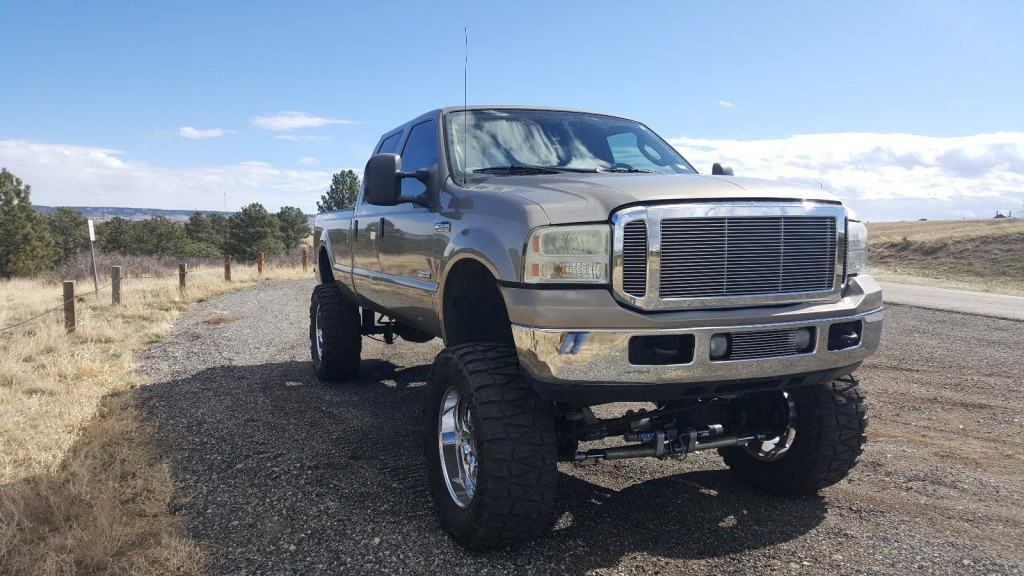 2006 Ford F250 Lariat Crew Cab Longbed Custom Monster