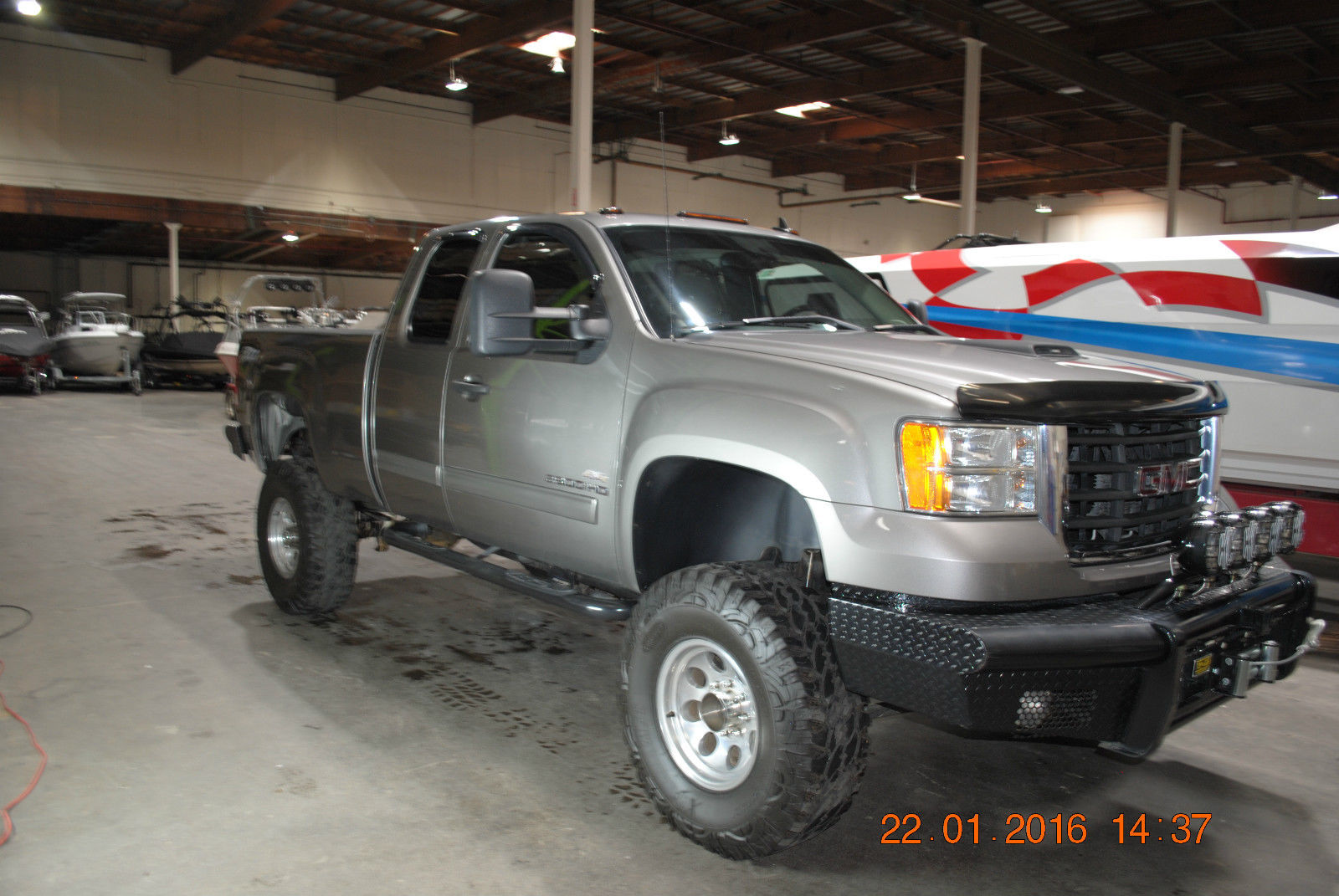 2008 GMC Sierra 2500 HD SLE Extended Cab Pickup 4 Door 6.0L for sale