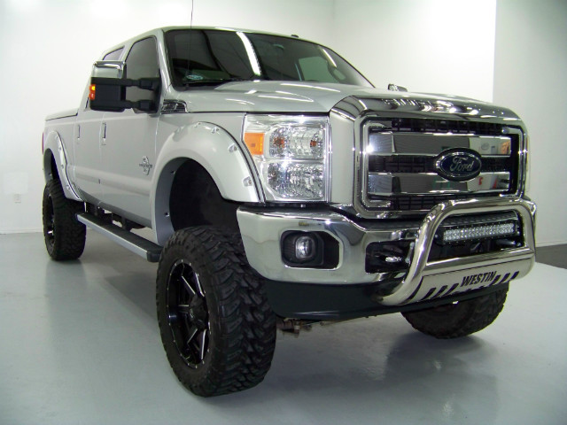 2012 Ford F 250 Turbocharged 4wd Westin Grill Guard For Sale
