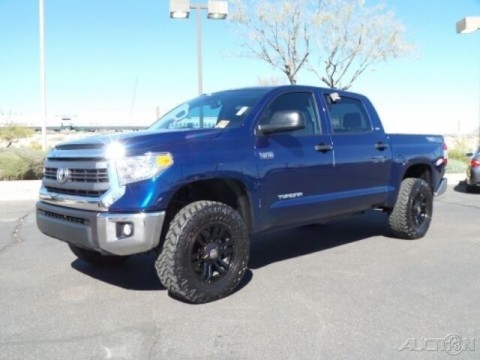 2014 Toyota Tundra 4X4 SR5 5.7L V8 32V Automatic 4WD Pickup Truck for sale