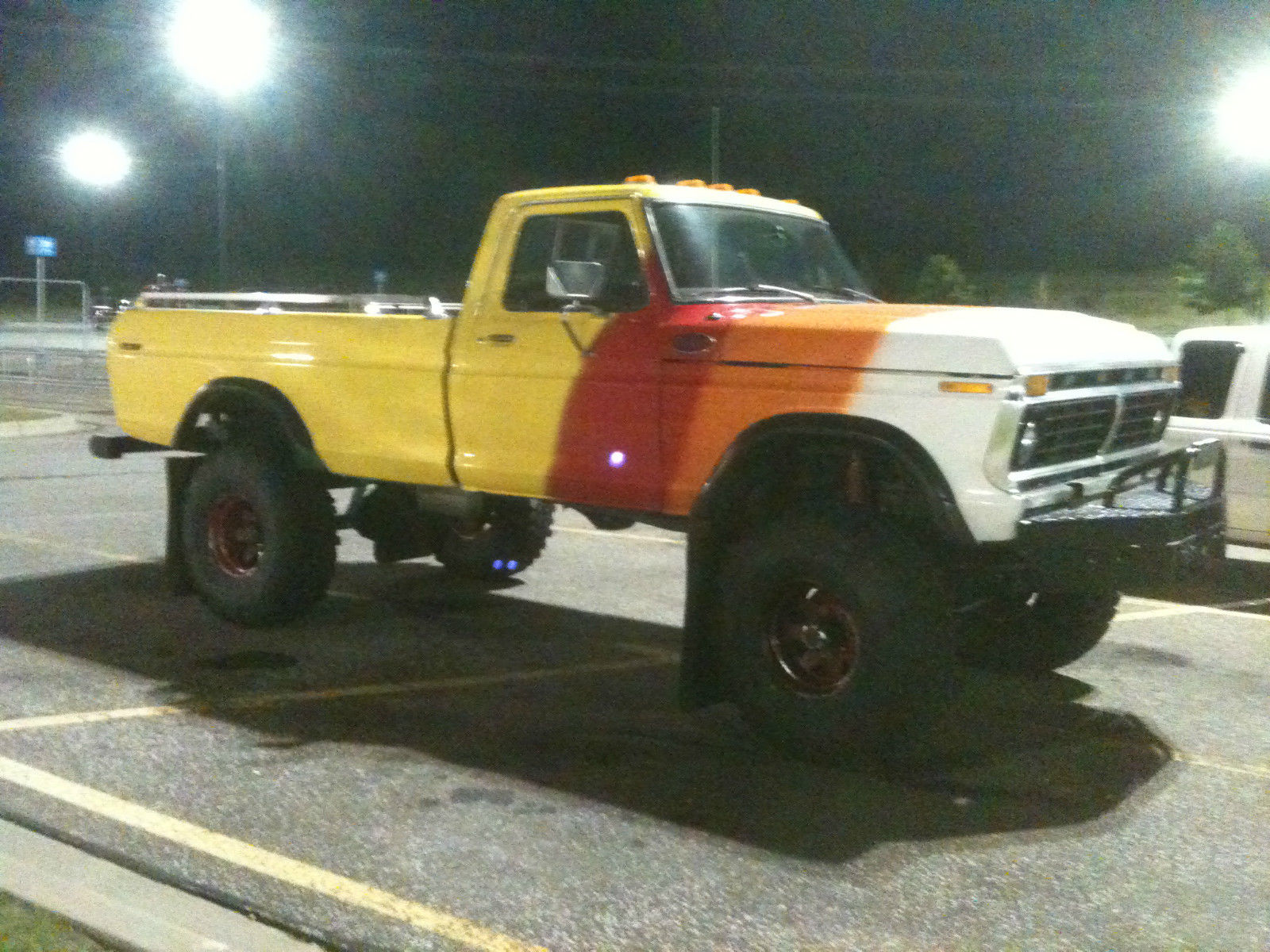 Ford F Highboy Monster Truck Mud Truck For Sale