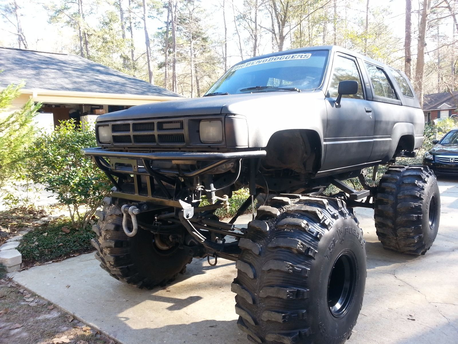 1985 toyota 4 runner sr5 monster bog truck for sale. Black Bedroom Furniture Sets. Home Design Ideas