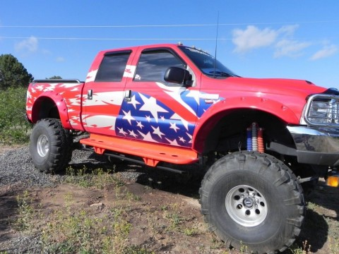 1999 Ford F 250 Monster Truck 9/11 Tribute for sale