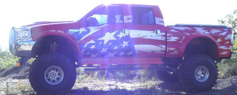 1999 Ford F 250 Monster Truck 9/11 Tribute