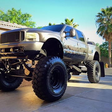 2002 Ford 7.3 Custom Lifted Monster Truck for sale