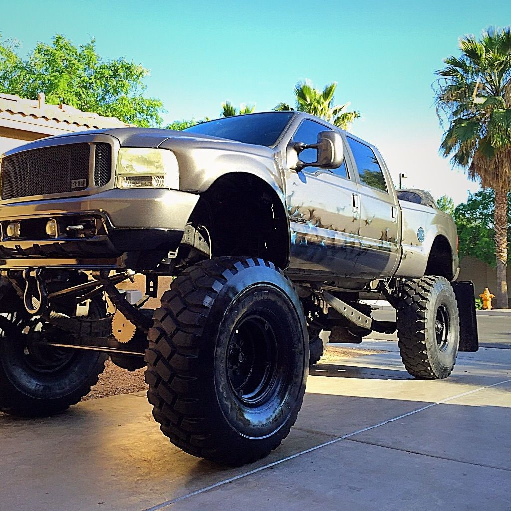 2002 ford 7 3 custom lifted monster truck for sale. Black Bedroom Furniture Sets. Home Design Ideas