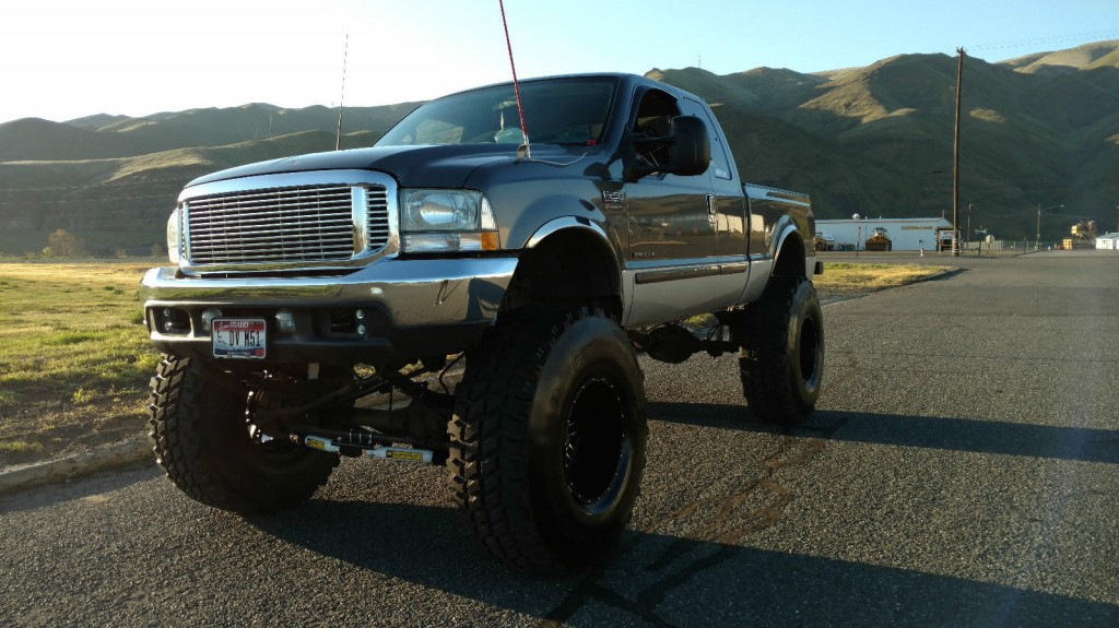 2002 ford f250 superduty lifted 7 3l diesel monster mudder for sale. Black Bedroom Furniture Sets. Home Design Ideas
