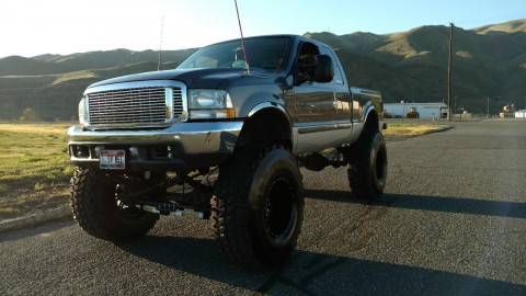 2002 Ford F250 Superduty Lifted 7.3L Diesel Monster Mudder for sale