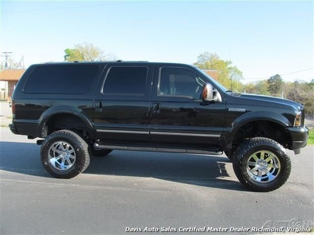 2003 ford excursion limited 7 3 power stroke turbo diesel lifted 4x4 for sale. Black Bedroom Furniture Sets. Home Design Ideas