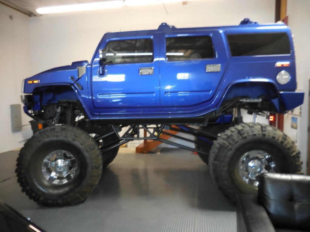2003 Hummer H2 4 Door 6.0l, Monster Truck