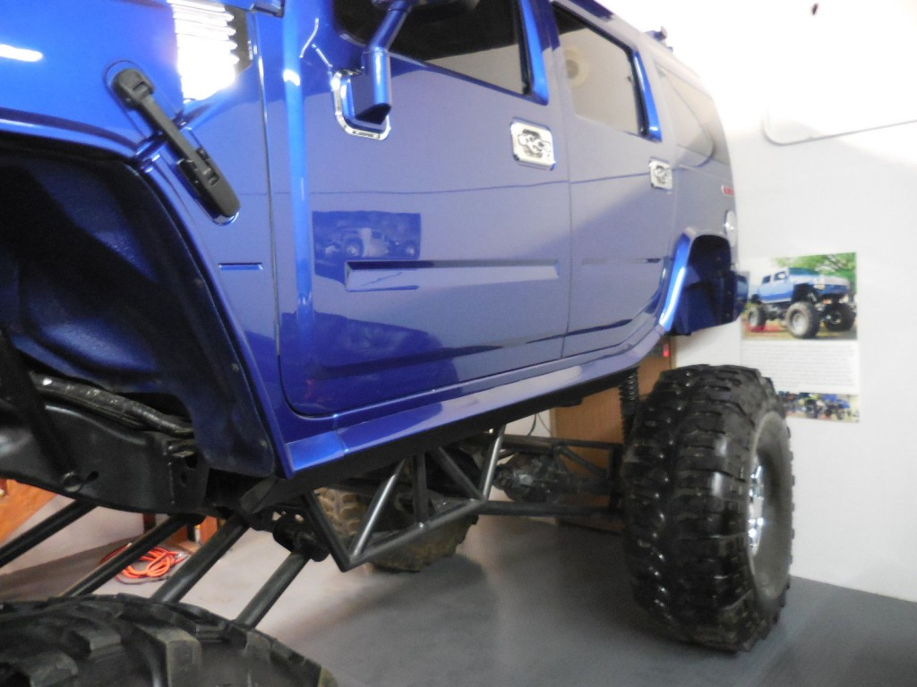 2003 Hummer H2 4 Door 6.0l, Monster Truck