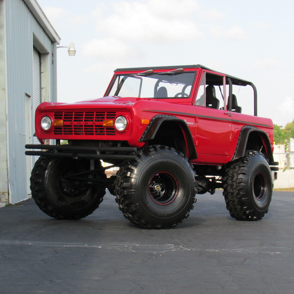 1977 ford bronco monster truck for sale. Black Bedroom Furniture Sets. Home Design Ideas