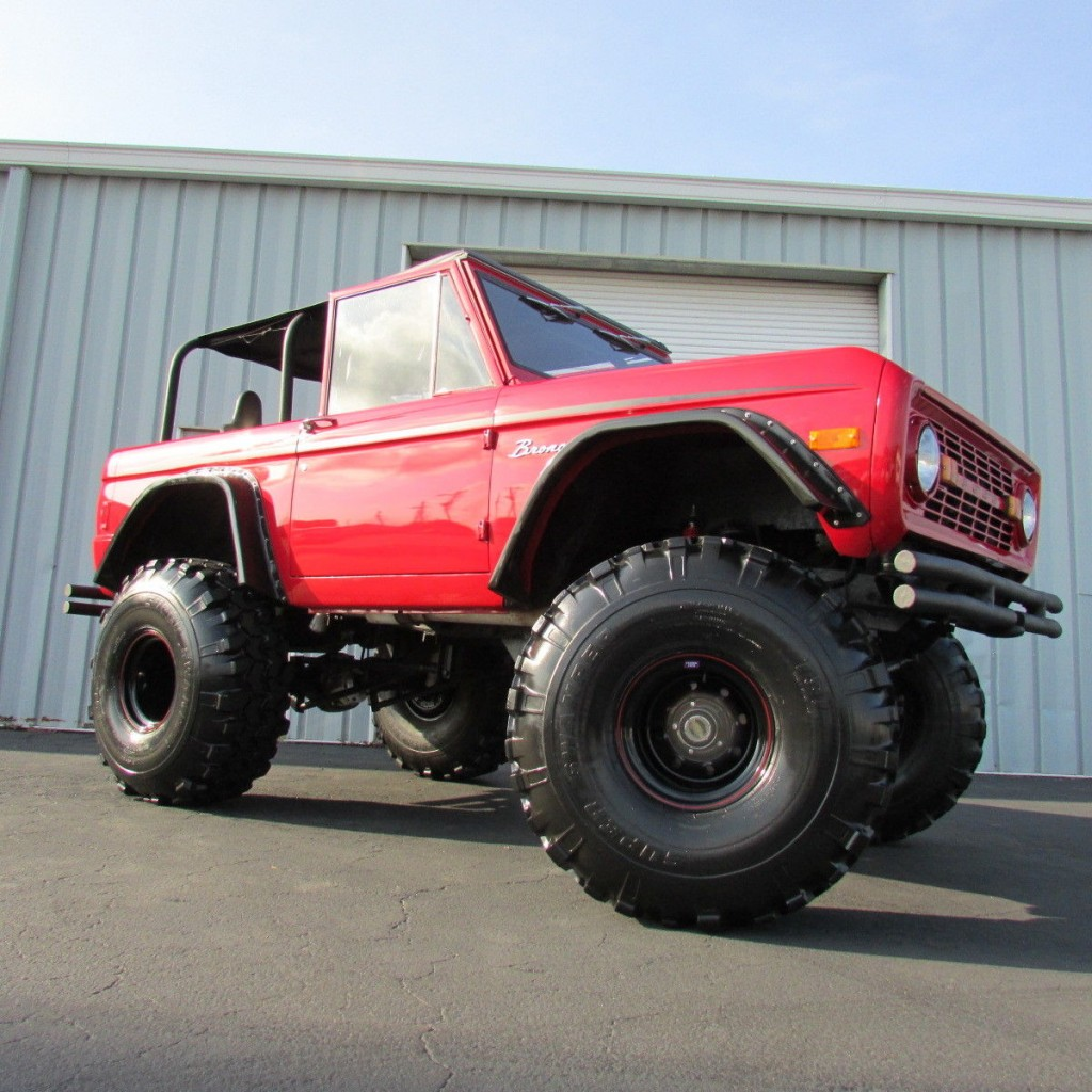 1977 Ford Bronco Monster Truck For Sale