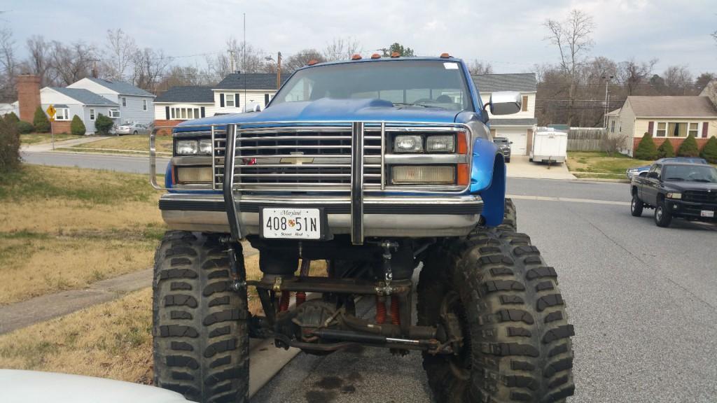 1989 Chevrolet C K Pickup 3500 Monster Truck For Sale