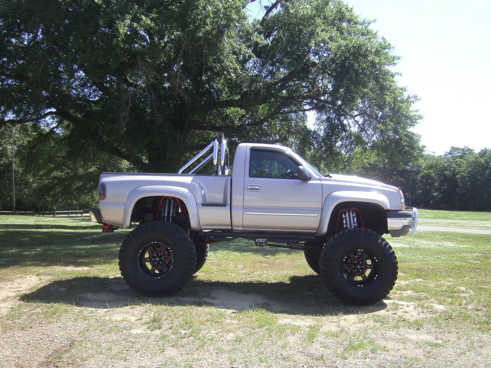 Chevrolet Silverado Reg Cab X Stepside Monster Truck For Sale on 1992 chevy 1500 4x4