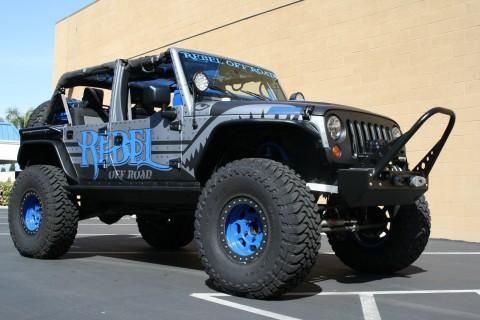 2008 Jeep Wrangler Unlimited X Sport Utility 4 Door 3.8L for sale