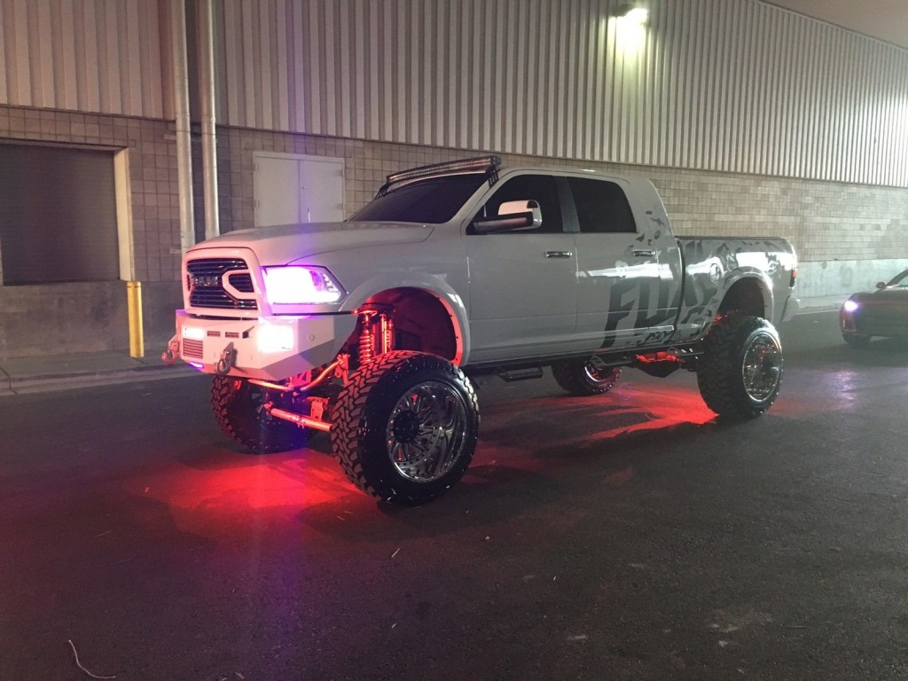 2015 RAM 2500 Laramie Lifted SEMA Truck for sale