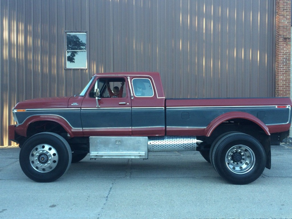 Dually Short Bed >> 1978 Ford F 250 Custom Highboy Dually Extended Cab Cummins for sale