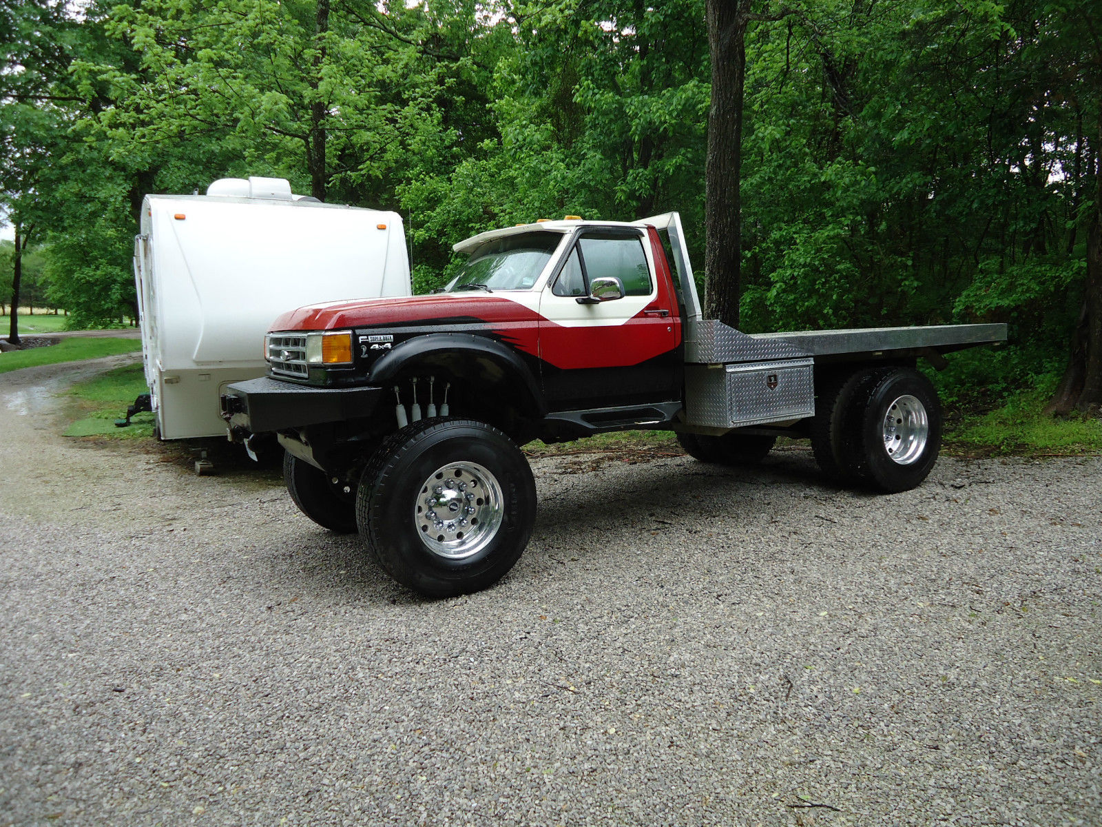 1989 Ford F450 Super Duty 7.3 Turbo Deisel Monster Truck ...
