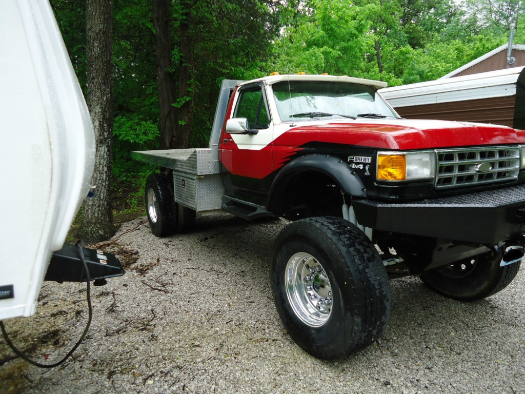 1989 ford f450 super duty 7 3 turbo deisel monster truck for sale. Black Bedroom Furniture Sets. Home Design Ideas