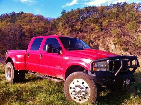 2002 Ford Pickups XLT Monster Truck Diesel Dually Shortbed for sale