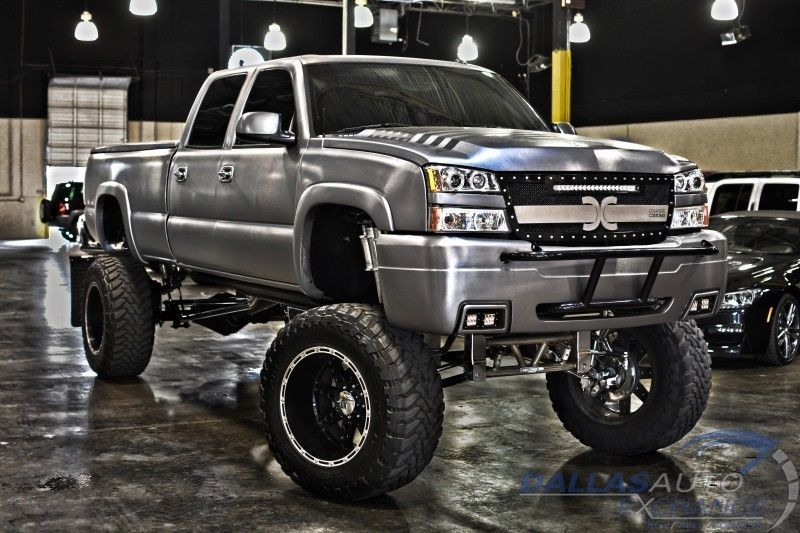 Chevrolet Silverado Hd Custom Sema Truck For Sale on Duramax Diesel Power