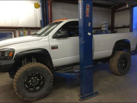 2007 Dodge Ram 2500 Monster Truck Cummins Kelderman Air Ride for sale