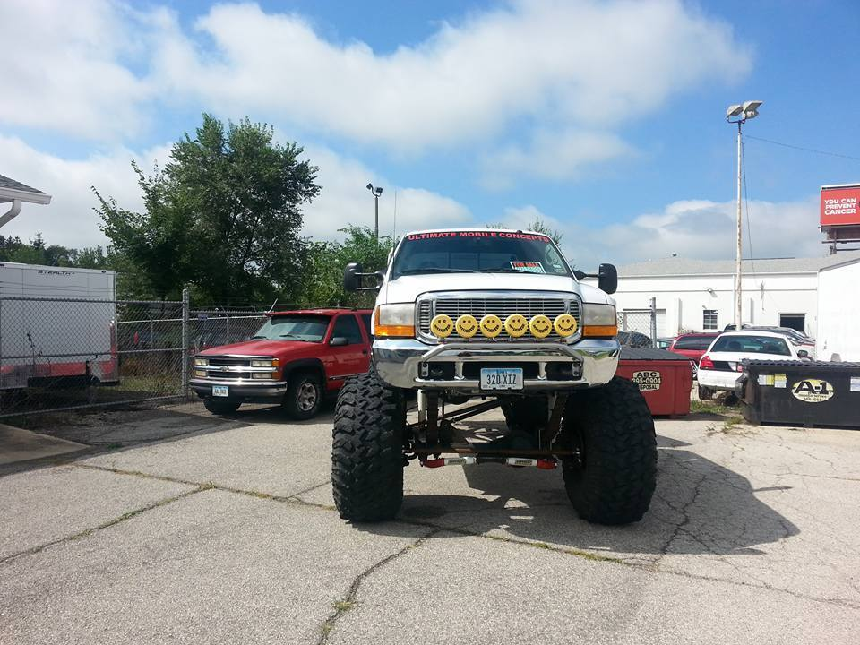 1999 Ford F-250 Super Duty Lifted Monster