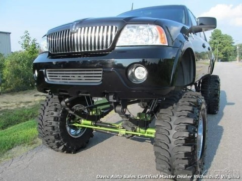 2001 Ford F 150 Lincoln XLT Black Wood Monster Truck Supercharged for sale