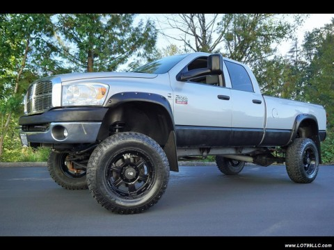 2007 Dodge Ram 3500 SLT Long Bed 6.7L Turbo Diesel Lifted 4×4 New 37″ for sale