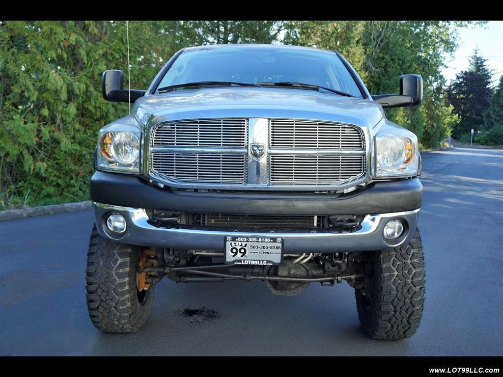 2007 dodge ram 3500 slt long bed 6 7l turbo diesel lifted. Cars Review. Best American Auto & Cars Review