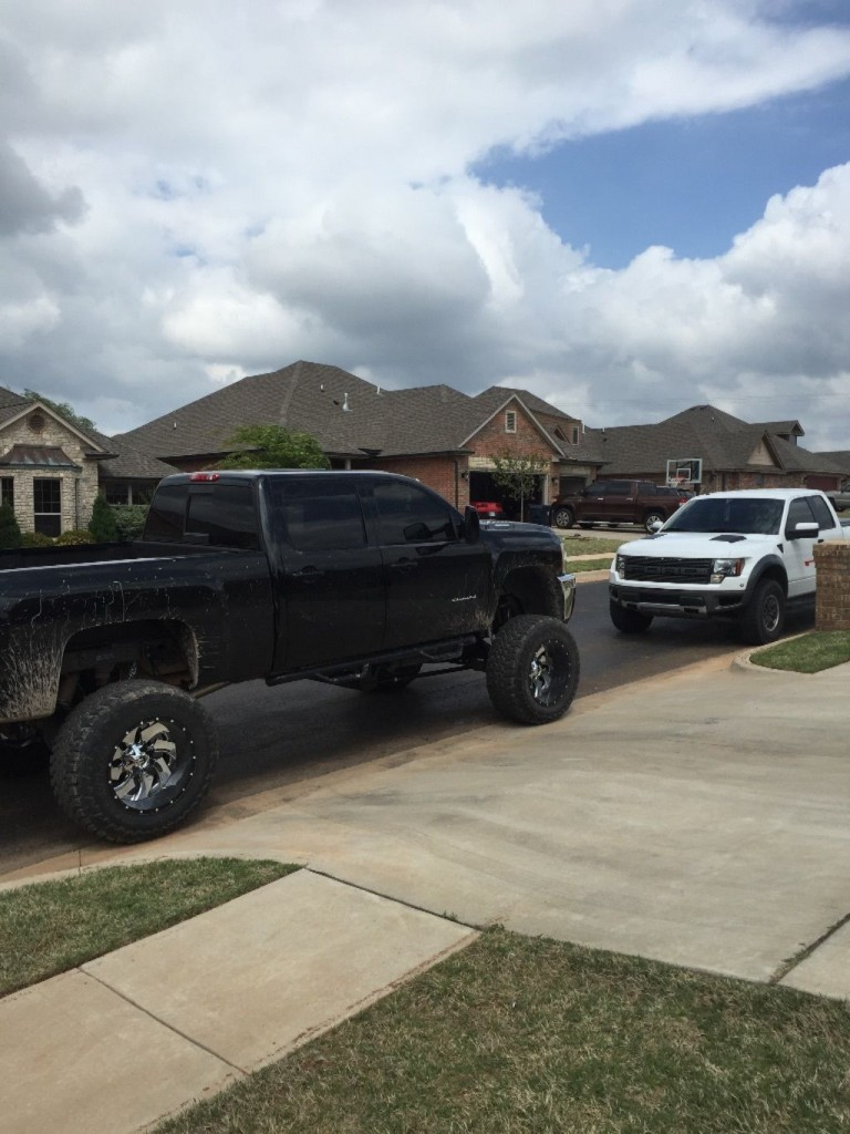 2013 Chevrolet Silverado 3500 Lifted Monster truck for sale