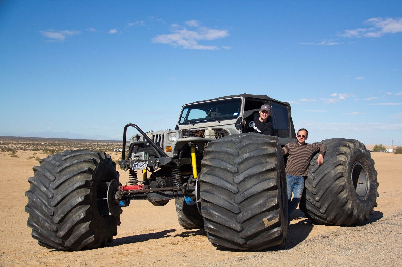 1989 Jeep Wrangler Street Legal Ultimate Rock Crawler