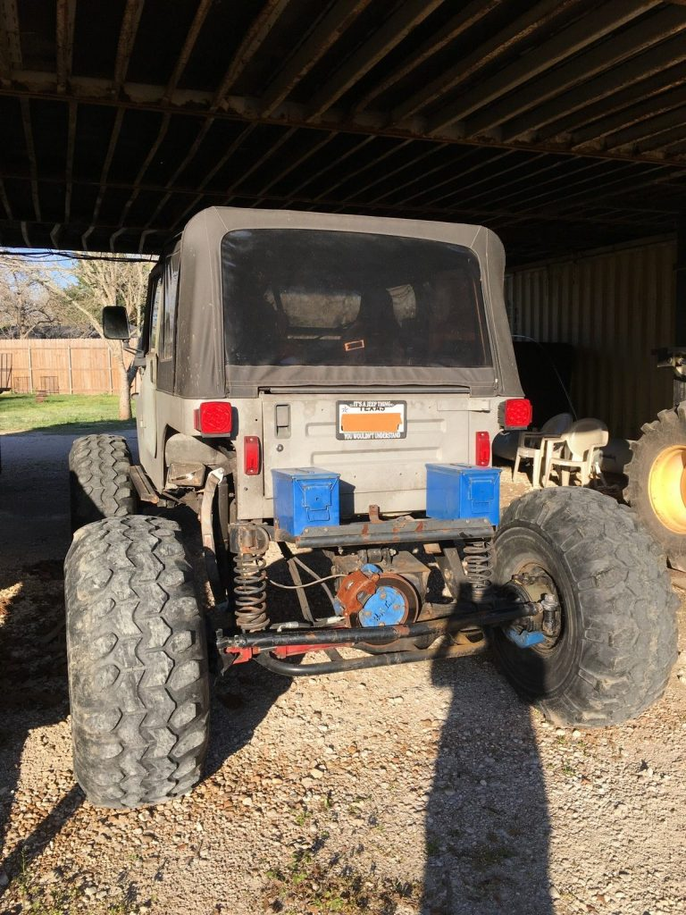 Jeep Wrangler Street Legal Ultimate Rock Crawler For Sale X on 1989 Jeep Wrangler Gauges