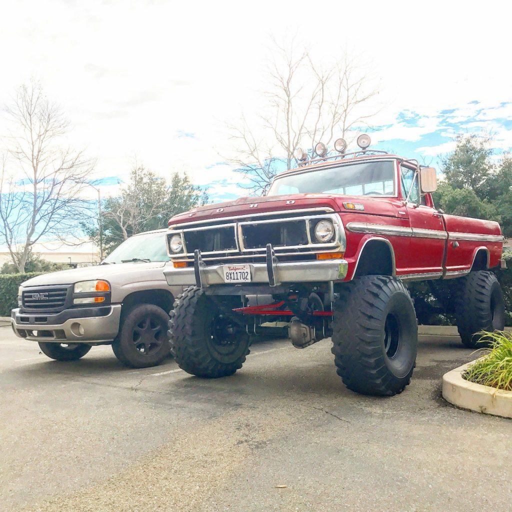 2017 F250 For Sale >> Monster truck 1972 Ford F-250 Ranger XLT for sale